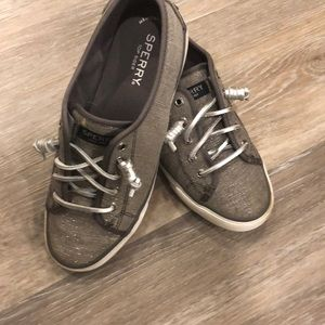 Sperry slip on tennis shoes